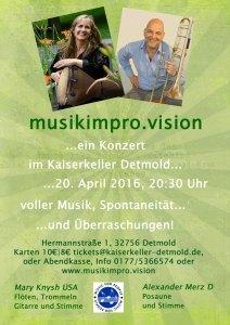 Konzert Improvisation in Detmold @ Kaiserkeller Detmold | Detmold | Nordrhein-Westfalen | Deutschland