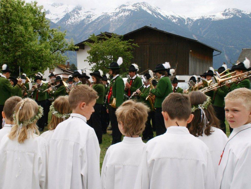Erstkommunion 2011 in Barwies, Foto: Knut Kuckel