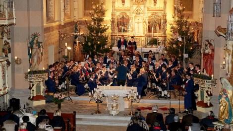 """Weihnachtskonzert am Stephanitag in der Pfarrkirche Untermieming - """"Musik für die Seele"""", Foto: Knut Kuckel"""