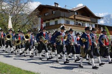 Fronleichnam 2016 in Untermieming - Messe, Prozession und Festl, Foto: Andreas Fischer