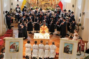 Herz-Jesu-Sonntag in Barwies, Foto: Knut Kuckel