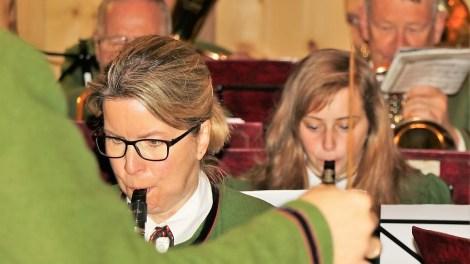 Erntedankfest mit Frühschoppenkonzert der Musikkapelle Mieming im Kulturstadl. Foto: Knut Kuckel