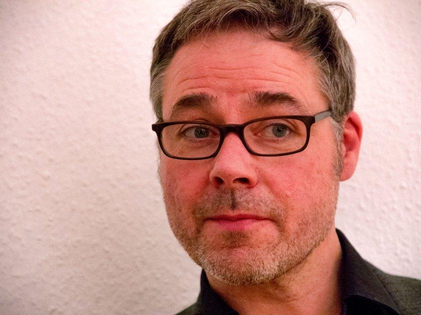 """Holger Noltze bei der Vorstellung seines Buches """"Die Leichtigkeitslüge"""". Foto: Hufner"""