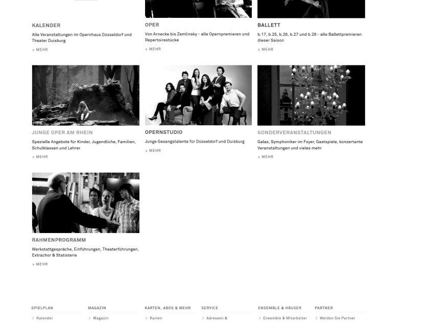 Deutsche Oper am Rhein. Website (Screenshot 2015/11)