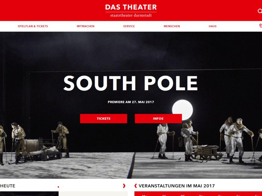 Website Staatstheater Darmstadt (Screenshot 24.5.2017)