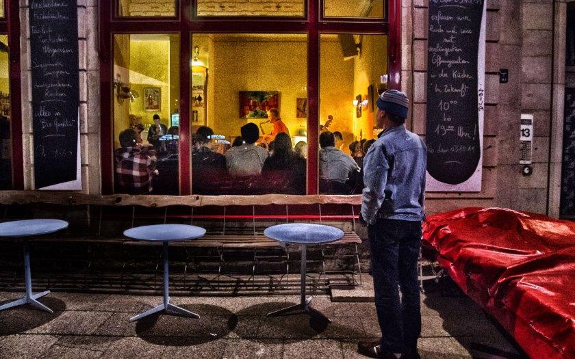 Konzert von außen. Foto: Hufner