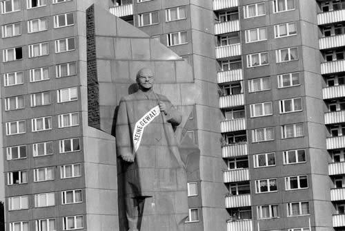 Lenin-Denkmal in Berlin. Foto: Hufner