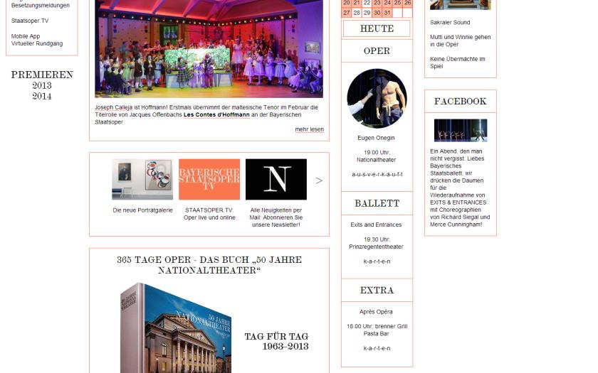 screenshot Bayerische Staatsoper