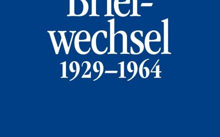 Theodor W. Adorno, Ernst Krenek Briefe und Briefwechsel Band 6.I: Theodor W. Adorno/Ernst Krenek. Briefwechsel 1929-1964