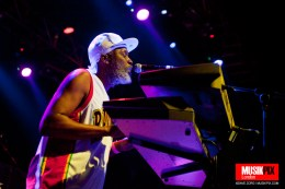 Selwyn Brown of Steel Pulse performs live at The Forum in London