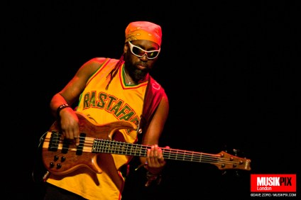 Amlak Tafari of Steel Pulse performs live at The Forum in London