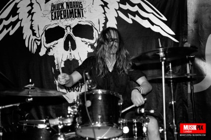 Swedish hard rock/punk band The Chuck Norris Experiment performed live at The Pipeline in London, as part of the Deathtime Assembly gathering.