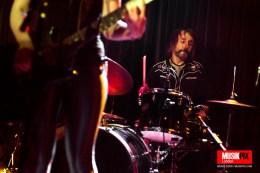 London based rock n roll band Moto Vamp performed live at Nambucca in London