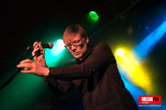 British post punk band Sad Lovers and Giants performed live at The Garage in London as a 'wave off' gig for their first tour of the U.S. which will start the following weekend.