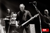 Legendary post punk band The Stranglers performed live at the O2 Brixton Academy in London, as part of their 'Black and White' tour.