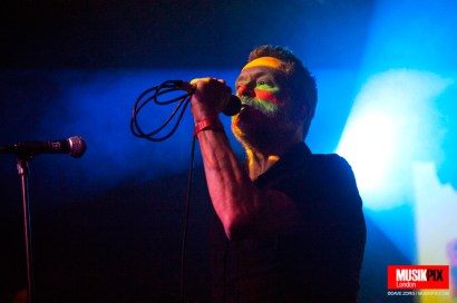 Synthpop band Blancmange performed live at The Garage in London, as part of their Commuter 23 tour.