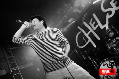 British punk band Chelsea performed live at The Garage in London, as part of their 40th Anniversary tour.