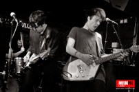 New postpunk pop band Piano Wire perfromed live at The Silver Bullet in London