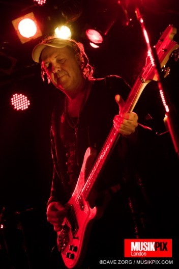 British post-punk band Killing Joke performed live in Malmo, Sweden as part of an European tour supporting their new album.
