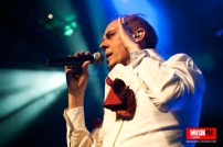 British goth legend Peter Murphy performed live at the O2 Academy Islington in London, celebrating 40 years of his career.