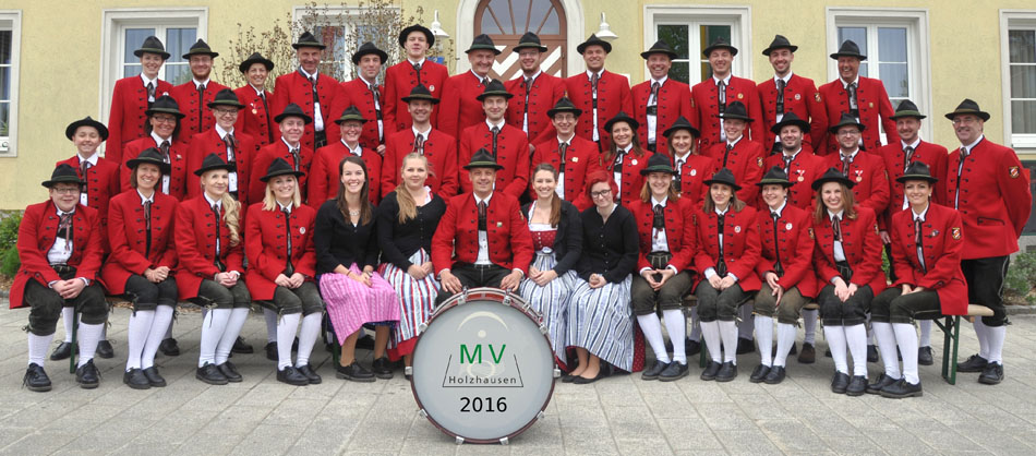 Gruppenfoto MV Holzhausen 2016
