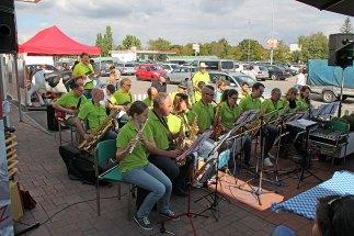 Auftritt bei Globus Hockenheim