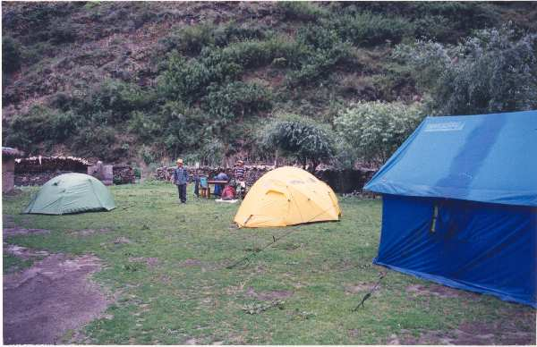 Our Campsite at Tal