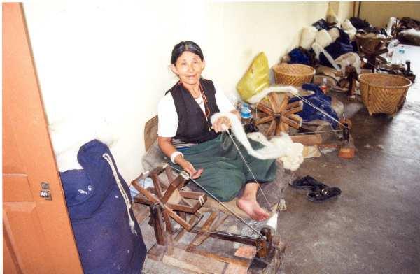 Tibetan Refugee woman