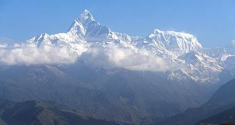 Machapuchre Mountain