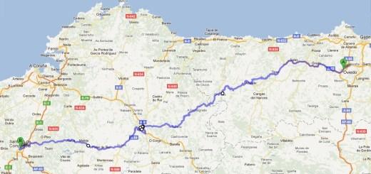 El Camino de Santiago-Primitivo Route
