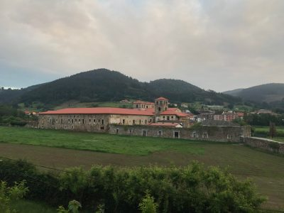 Monastery at Cornellana