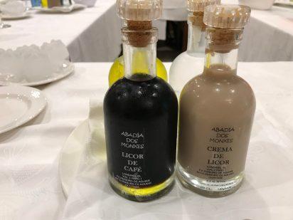 Licor de Cafe and Crema de Licor
