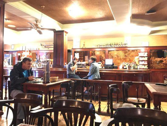 Bar we had dinner at in Grandas de Salime