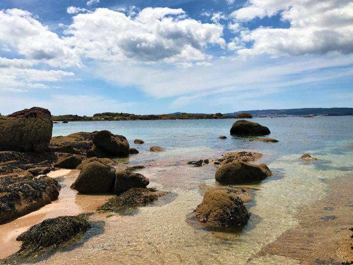 Playa Area de Secada-Illa de arousa
