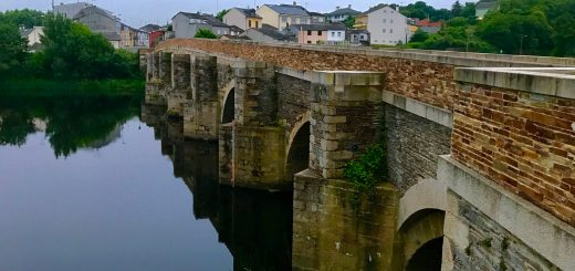 The Roman Bridge in Lugo