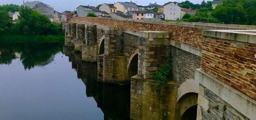 The Roman Bridge in Lugo