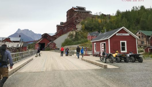 Entering Kennicott-Now an abandoned ghost town