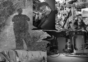 collage of images for Musings In Grayscale