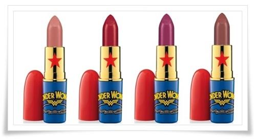 MAC Wonder Woman 5 MAC Wonder Woman Collection