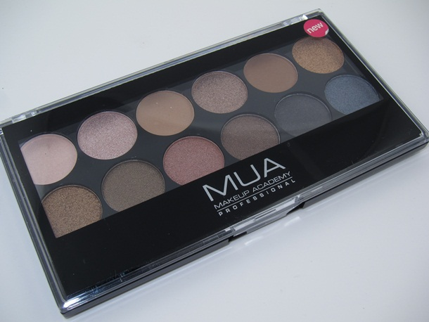 MUA Makeup Academy Undressed Eyeshadow Palette 1