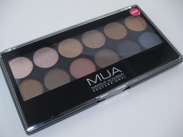 MUA Makeup Academy Undressed Eyeshadow Palette 1