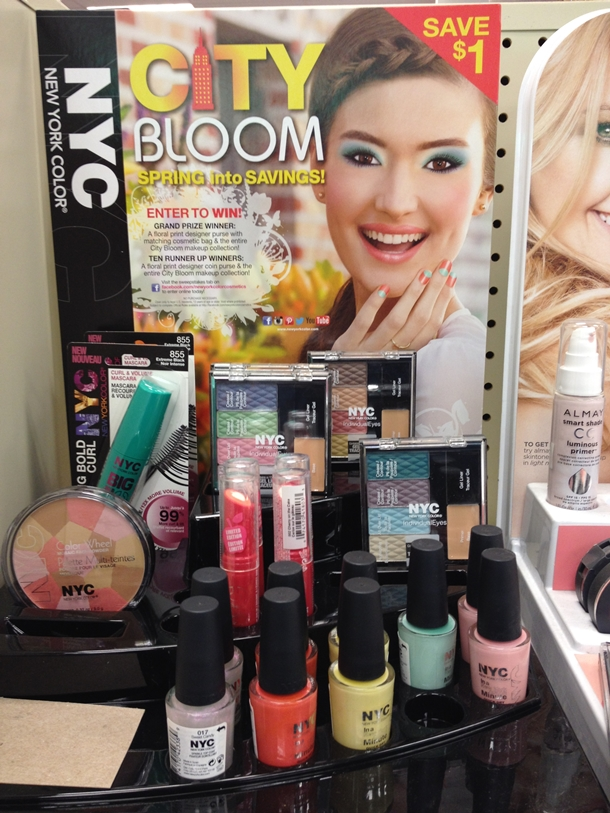 NYC Color Cosmetics City Bloom Spring 2014