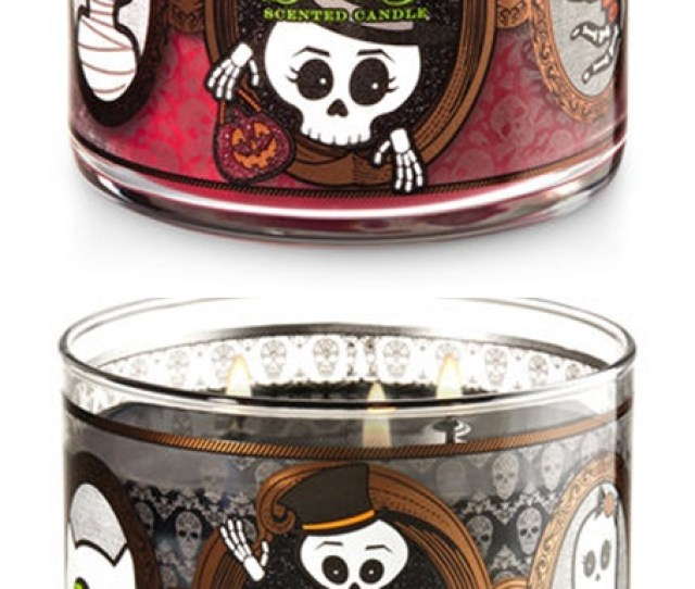 Bath Body Works Halloween  Candles Launch