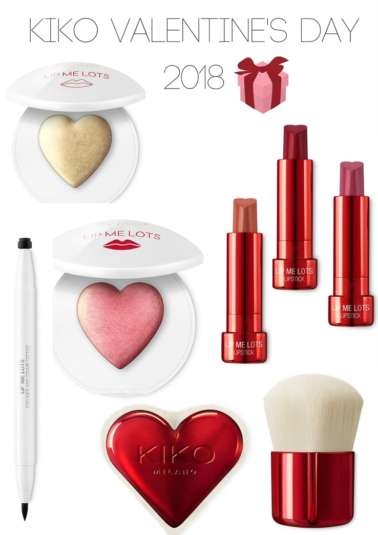 Celebrate Valentines Day With The Kiko Lip Me Lots
