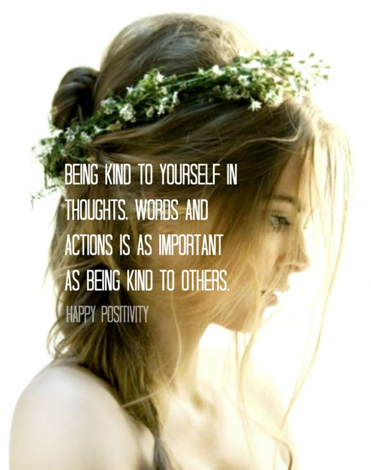 On Being Kind to Yourself