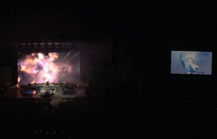 Empire of the Sun Hollywood Bowl iPhone