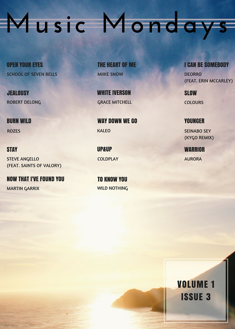 Music Mondays March Playlist
