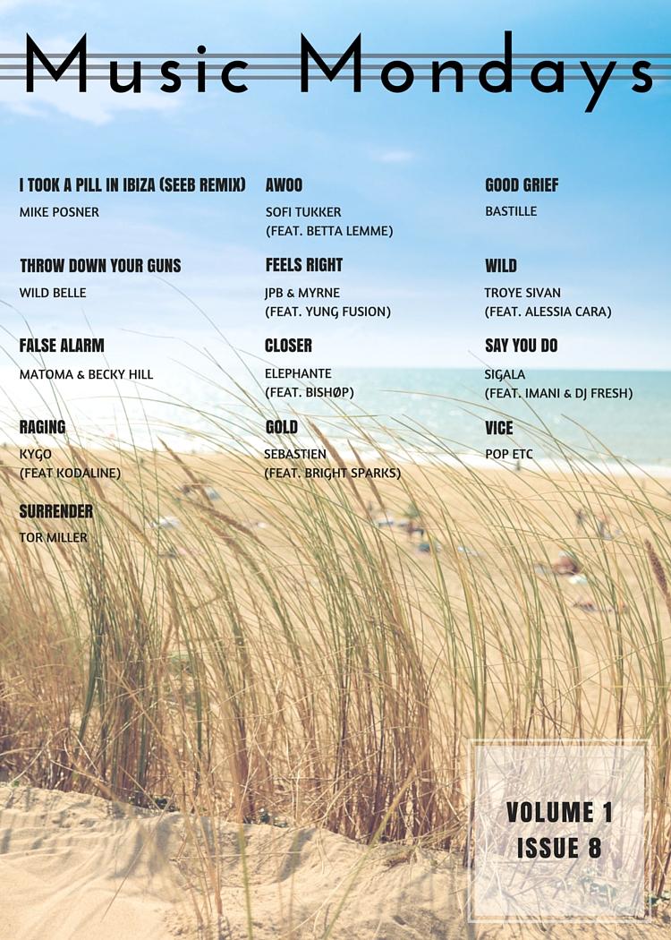 Music Mondays - July Playlist