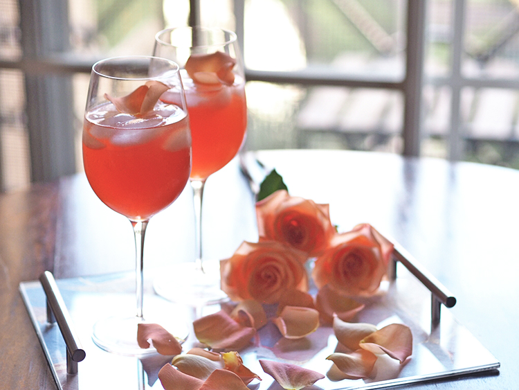 The refreshingly light Aperol Grapefruit Splash makes for the perfect Valentine's Day cocktail thanks to its gorgeous color and addictive taste.