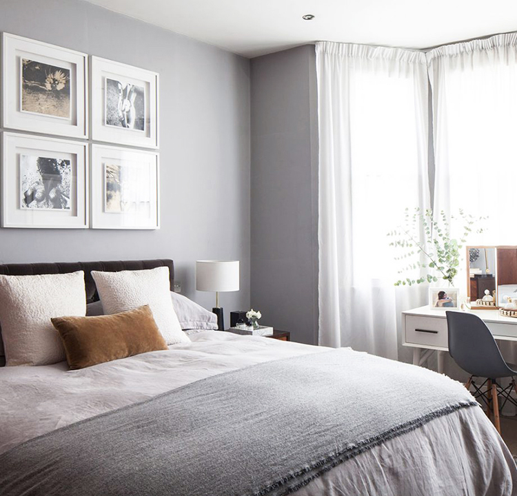 Bewitching London Home Tour - Bedroom